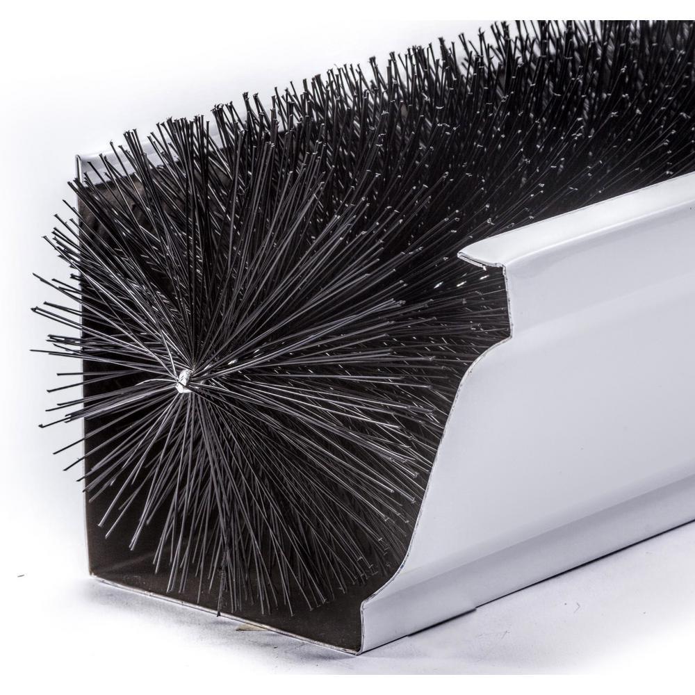 GutterBrush Oversize 6 in. - 12 ft. Pack Max-Flow Filter Brush Gutter Guard
