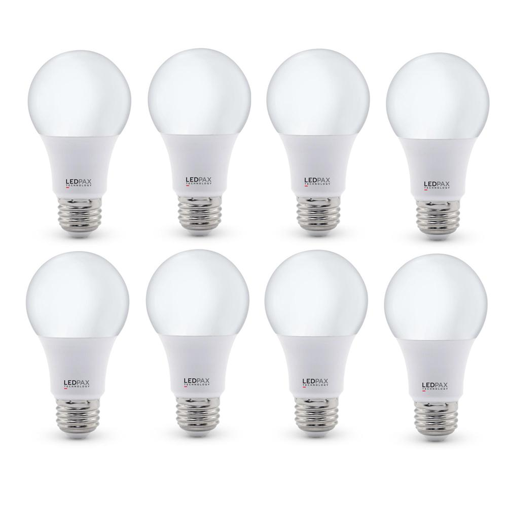 60-Watt Equivalent A19 LED Light Bulb (8-Pack)