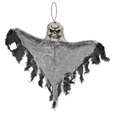 12 in. Small Black Halloween Hanging Reaper (10-Pack)
