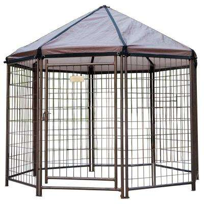 Outdoor Pet Gazebo Dog Kennel