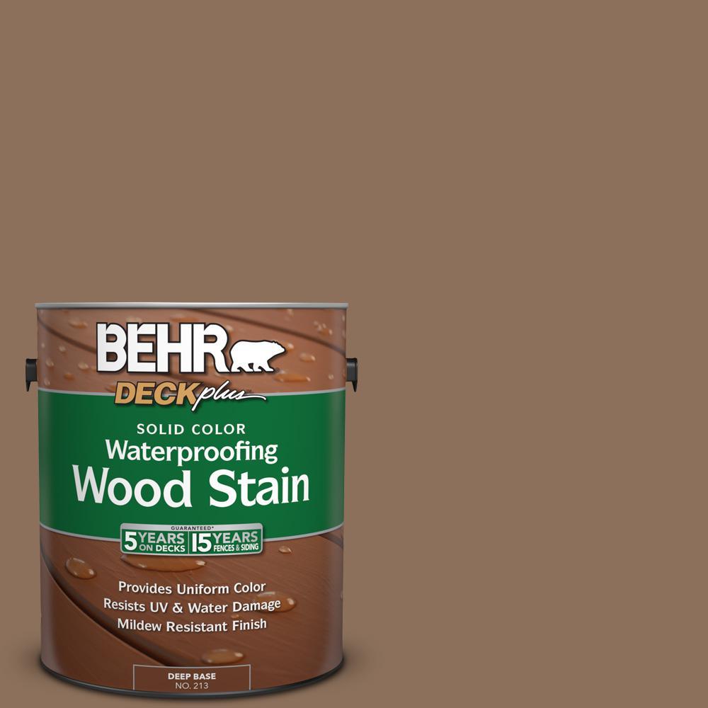 1 gal. #N240-6 Wild Mustang Solid Color Waterproofing Wood Stain