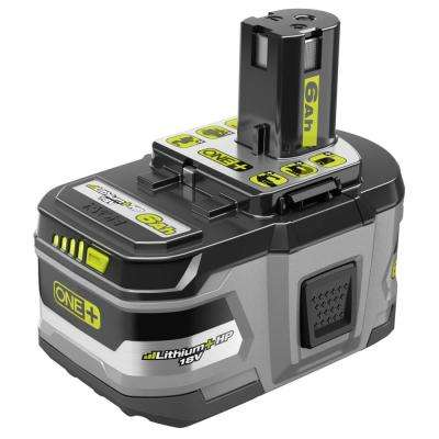 18-Volt ONE+ Lithium-Ion 6.0 Ah LITHIUM+ HP High Capacity Battery