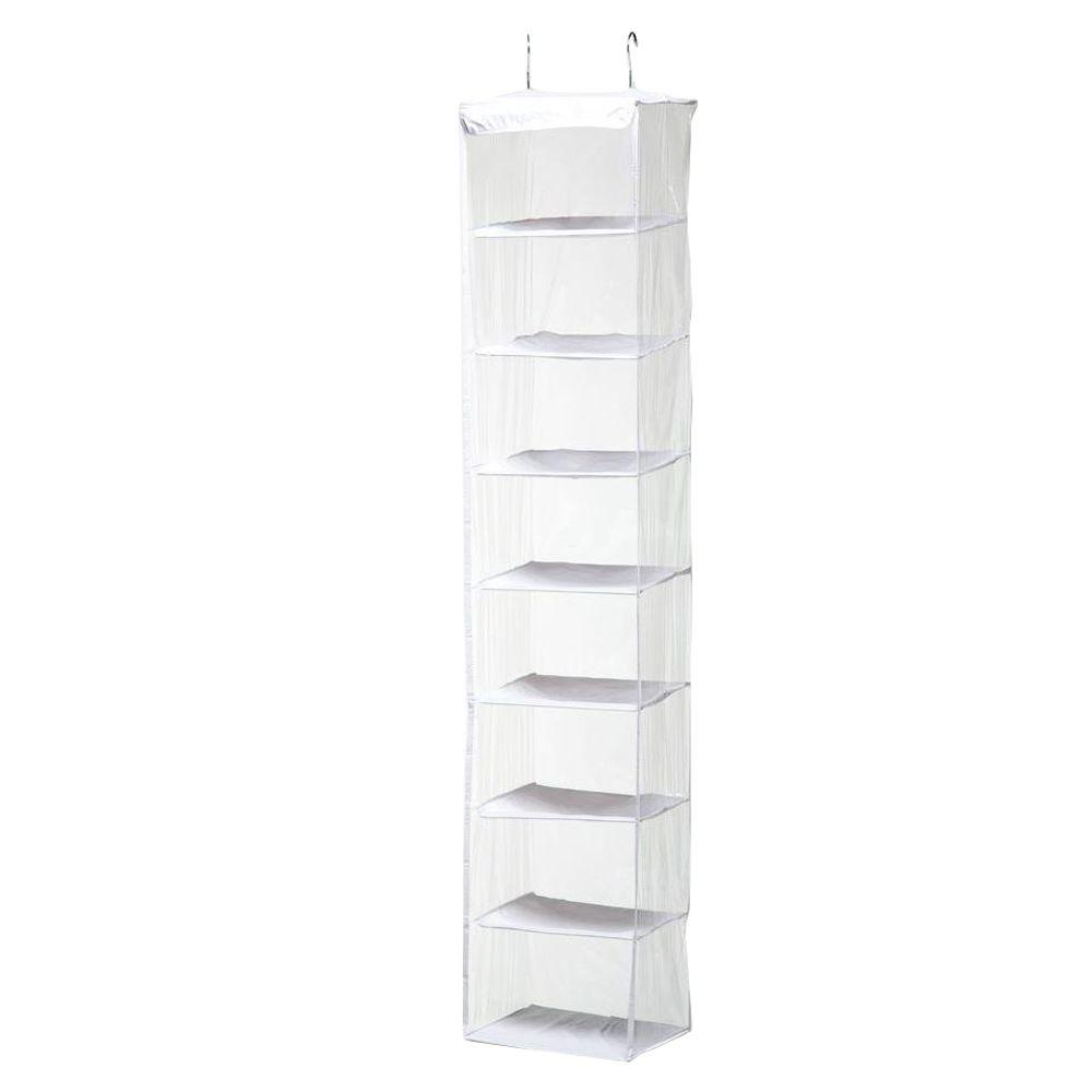 Honey-Can-Do 8-Shelf PEVA Hanging Organizer