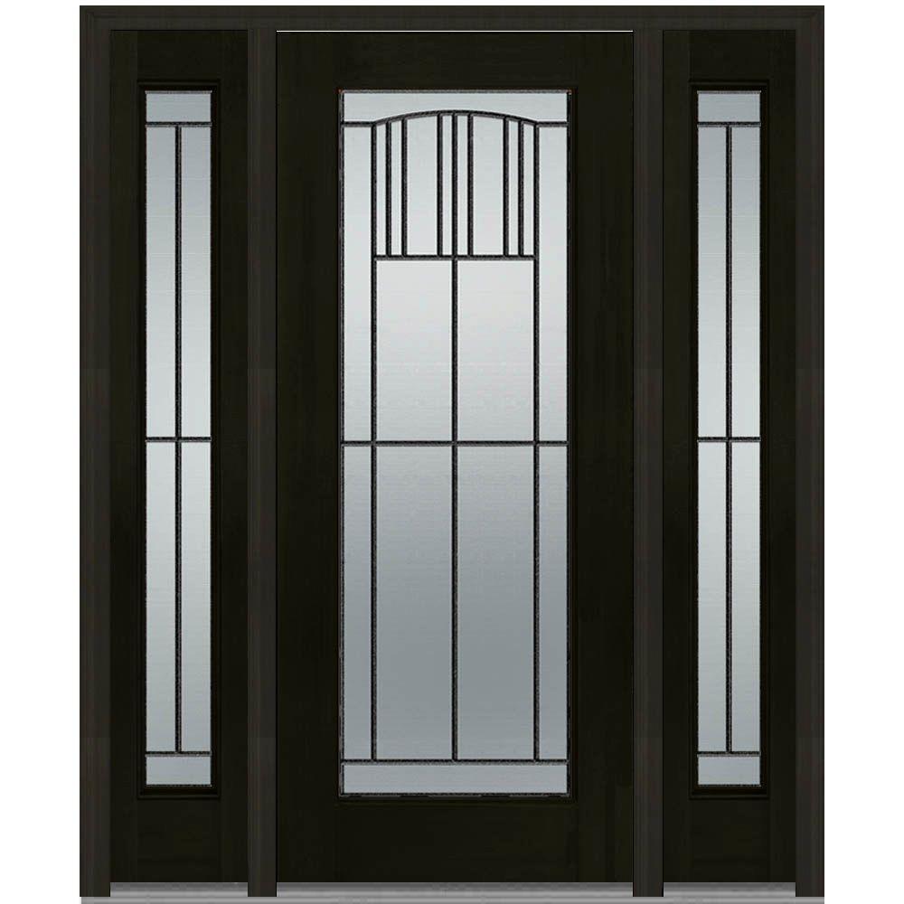MMI Door 60 in. x 80 in. Madison Right-Hand Full Lite Decorative ...