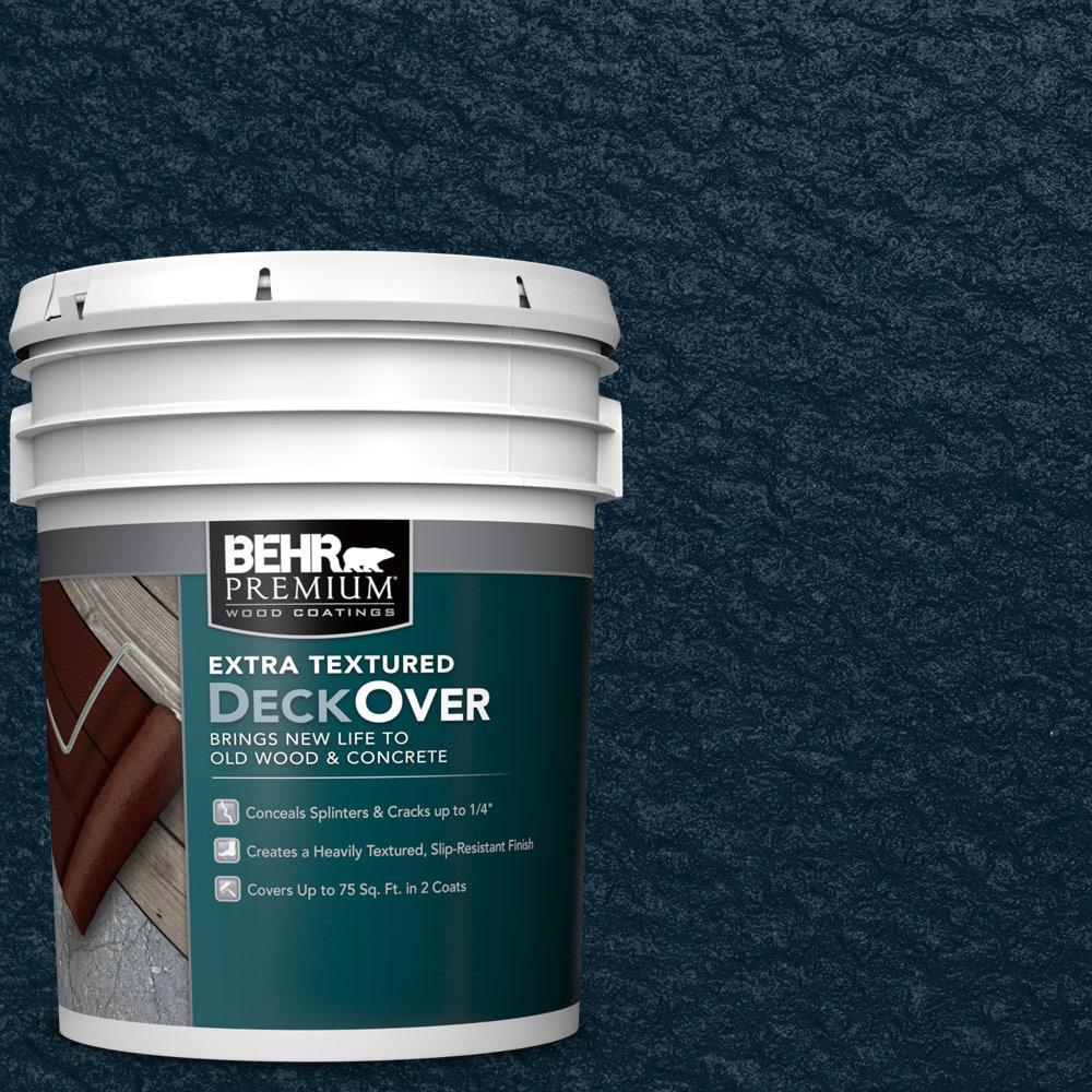Behr premium extra textured deckover 5 gal sc 101 - Exterior textured paint home depot ...