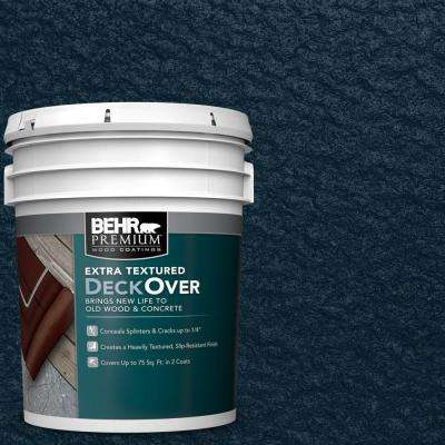 5 gal. #SC-101 Atlantic Extra Textured Solid Color Exterior Wood and Concrete Coating