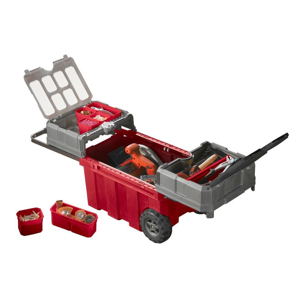 Keter Master Pro 24-1/4 in. Utility Cart