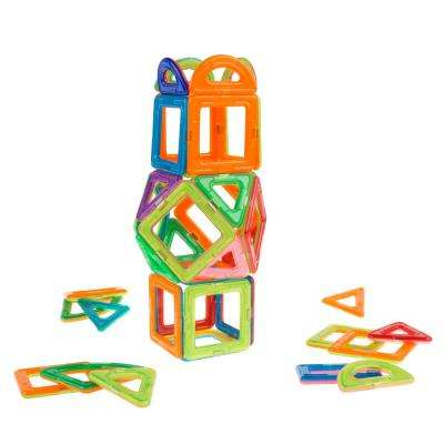 Magnetic Building Block Toy Set with 40-Pieces
