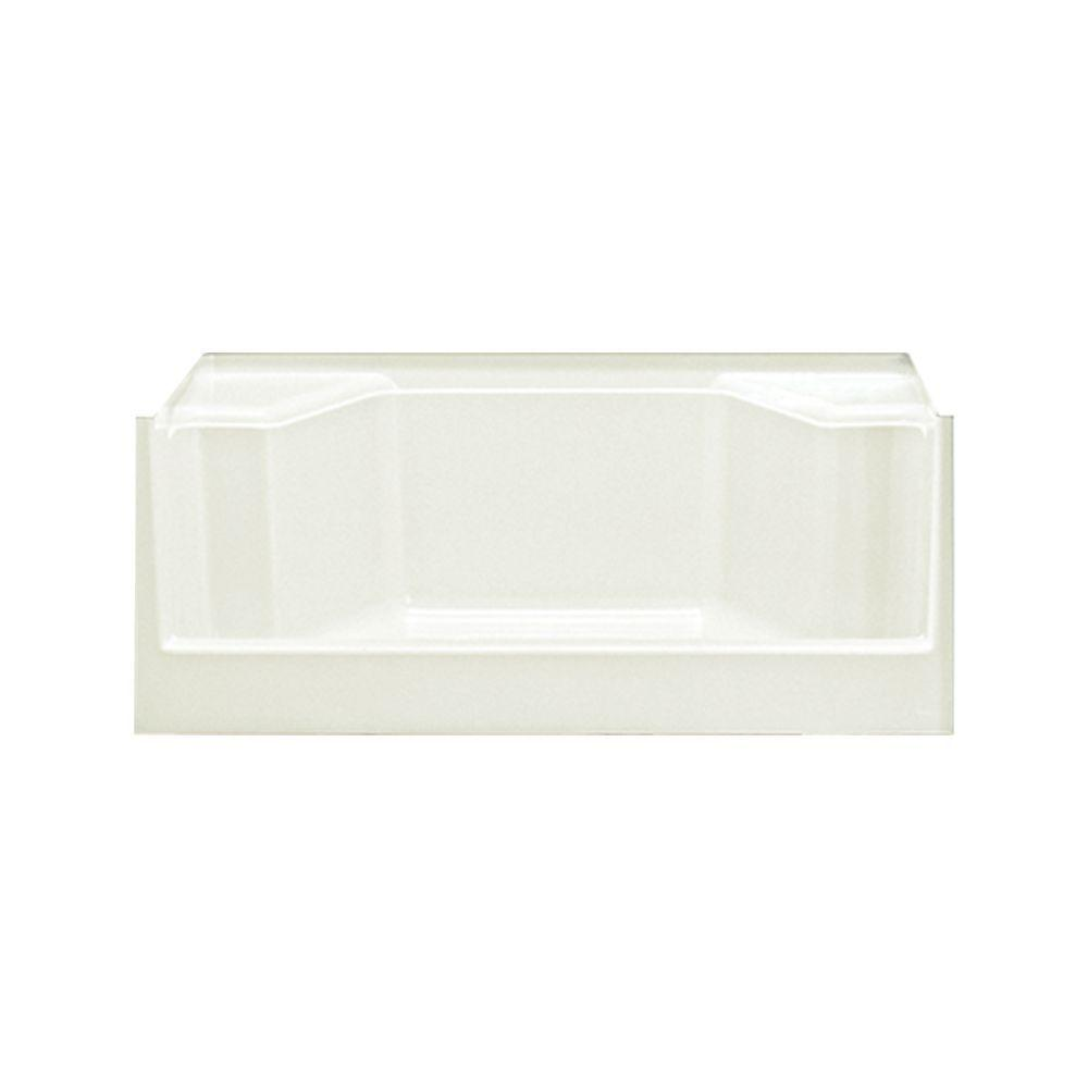 STERLING Advantage Seated 48 in. x 34 in. Single Threshold Shower Receptor in Biscuit