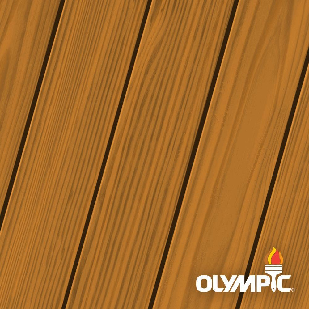 Olympic Elite 7.5 oz. Atlas Cedar Semi-Transparent Stain and Sealant in One Low VOC