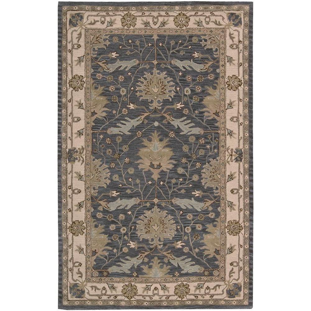 Nourison Oasis Blue 2 Ft 6 In X 4 Ft Accent Rug 001726