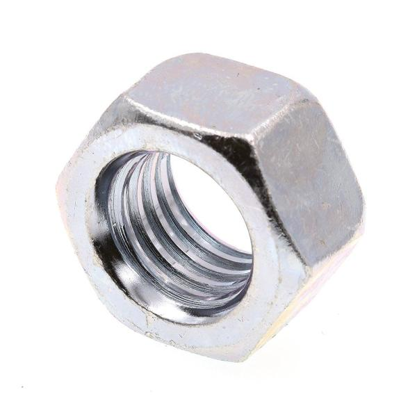 5/8 in.-11 A563 Grade A Zinc Plated Steel Finished Hex Nuts (50-Pack)