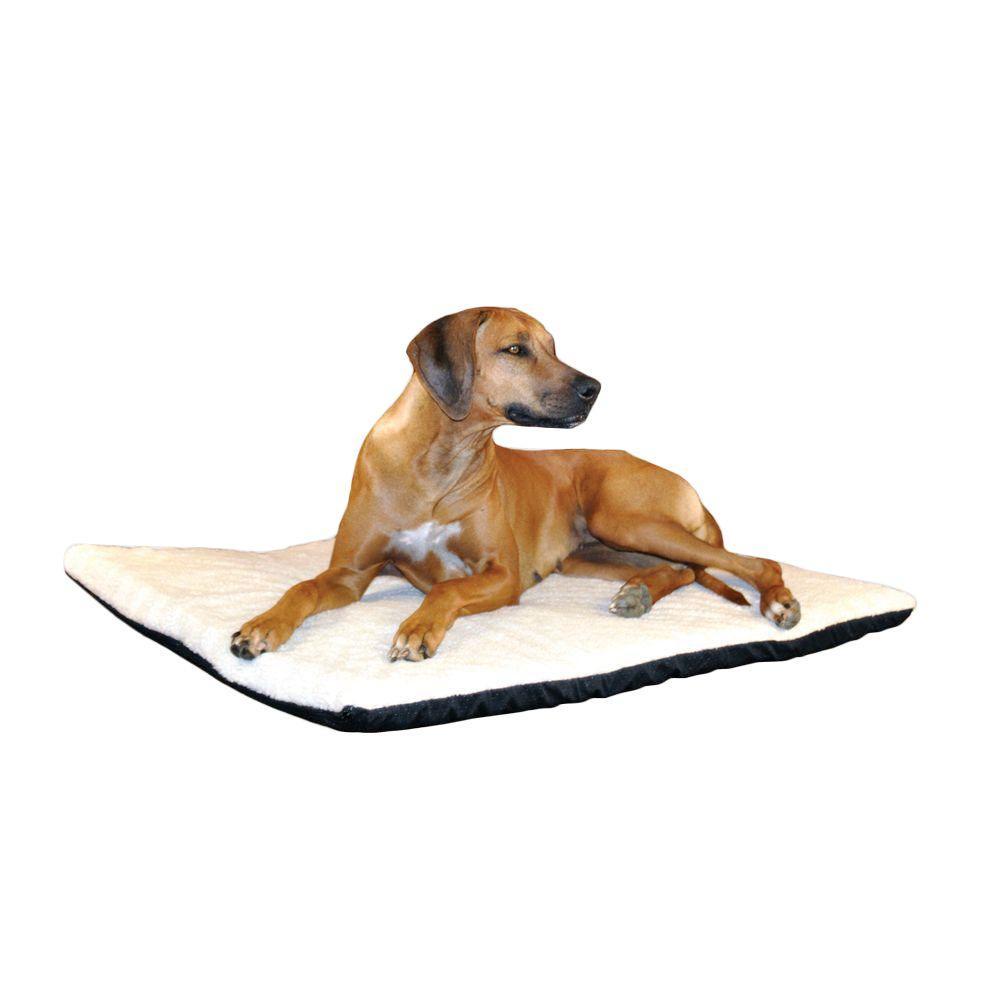 Ortho Thermo Extra Large Cream Non-Slip Heated Dog Bed