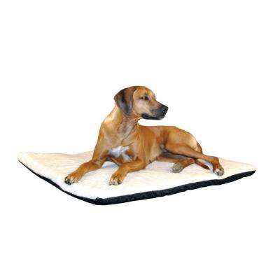 Ortho Thermo Extra Large Cream Non-Slip Heated Dog Bed