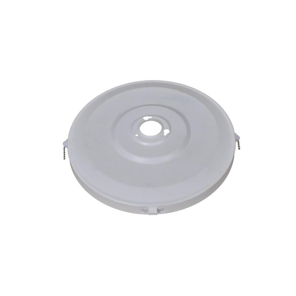 Roanoke 48 in. White Ceiling Fan Replacement Switch Housing Assembly