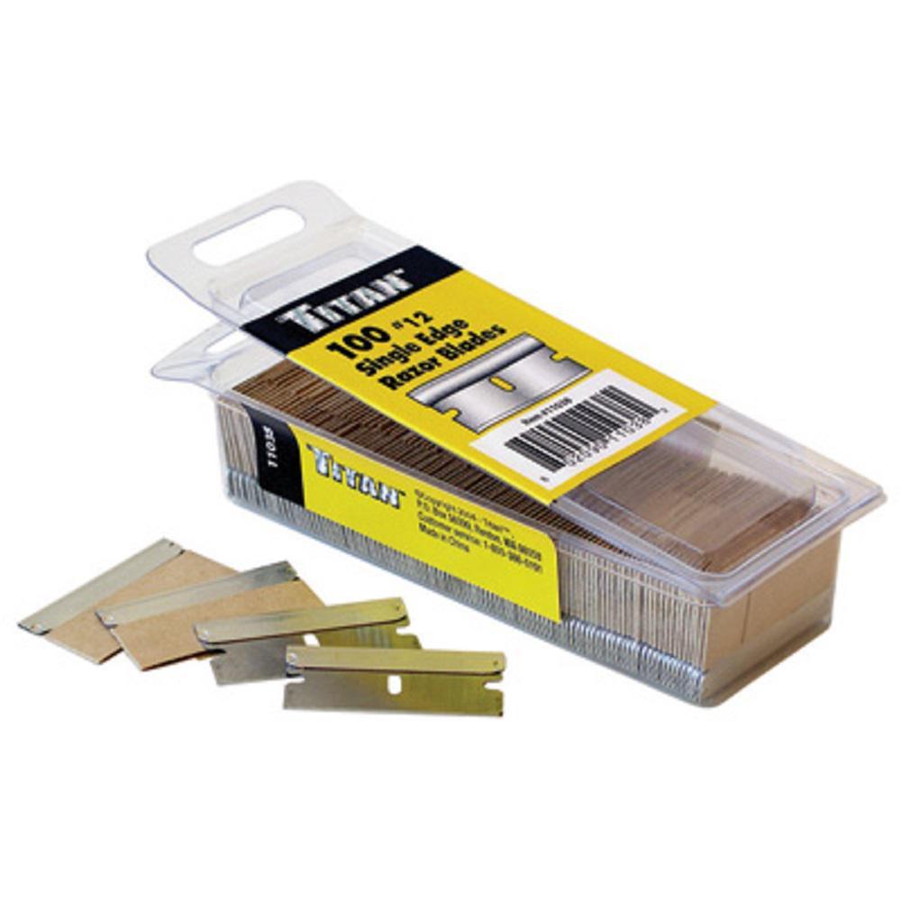 100-Pack of Razor Blades
