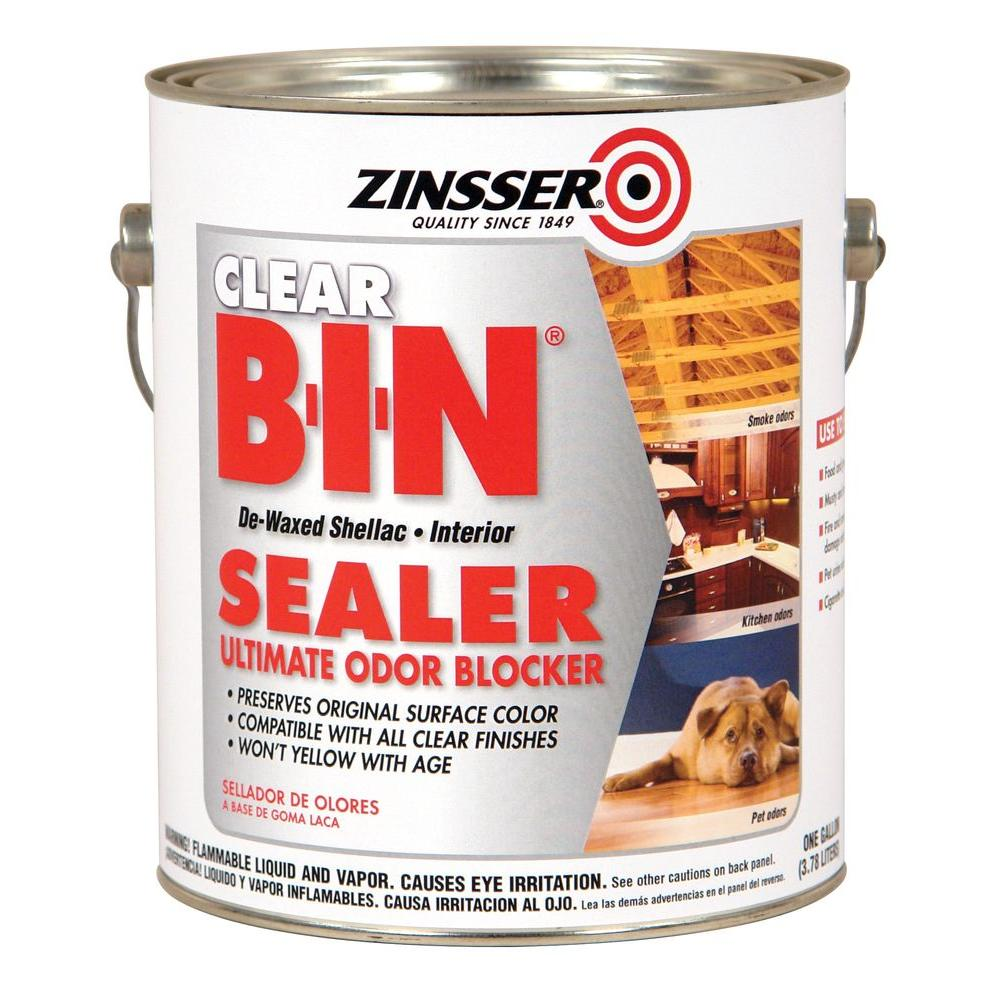 Clear Shellac Based Interior Sealer 2 Pack