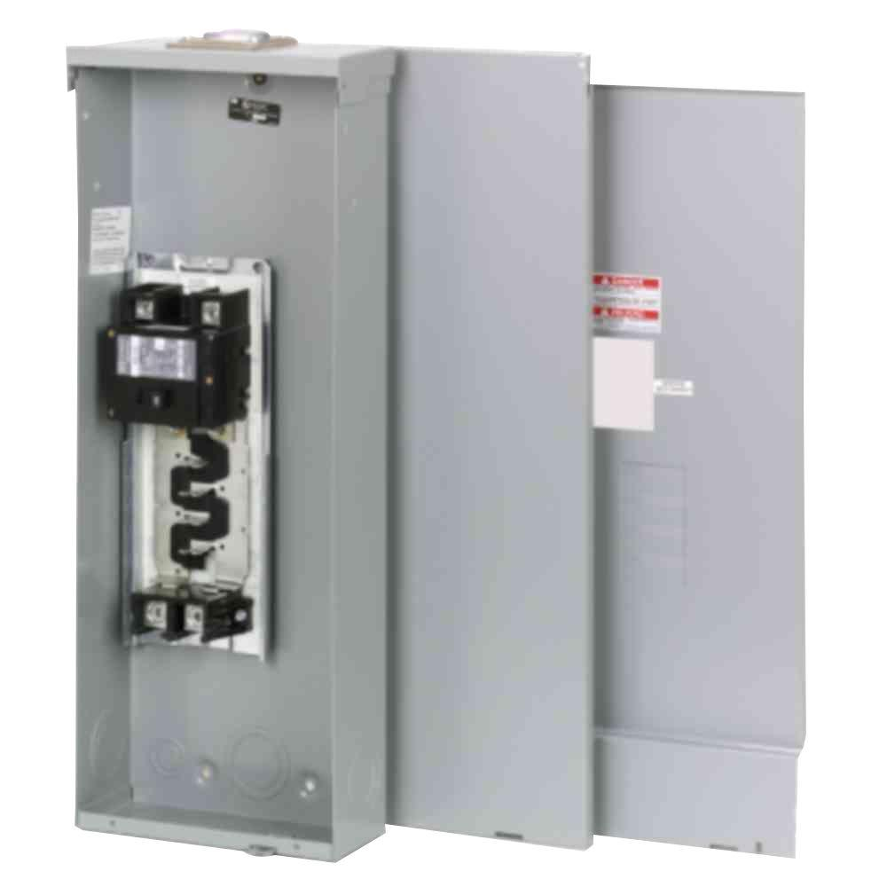 Eaton Br 200 Amp 4 Space 8 Circuit Outdoor Main Breaker Loadcenter With Cover Br48b200rfp The Home Depot