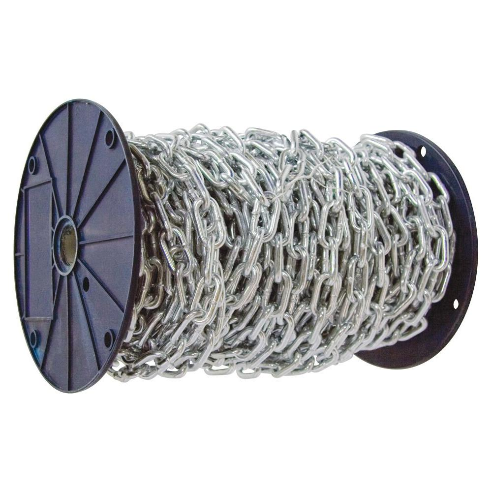 3/16 in. x 100 ft. Grade 30 Proof Coil Chain Zinc