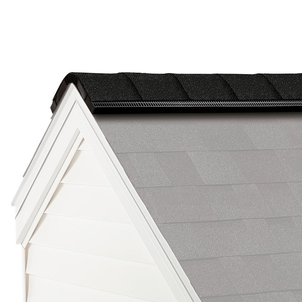 ProEdge Algae Resistant Onyx Black Hip and Ridge Asphalt Roofing Shingles