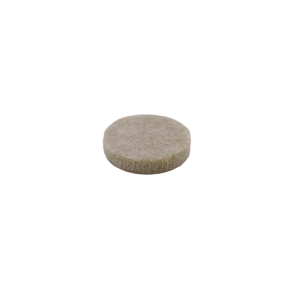 Everbilt 1 in. Heavy-Duty Self-Adhesive Beige Felt Pad (16-Pack)