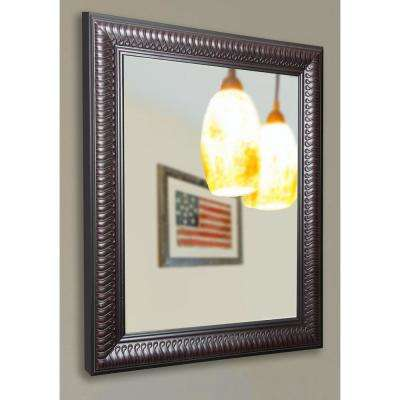 32 in. x 38 in. Royal Curve Accent Non Beveled Floor Wall Mirror