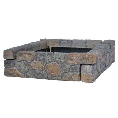 1.9 ft. Dark Stone Composite Edger's (4-Set)