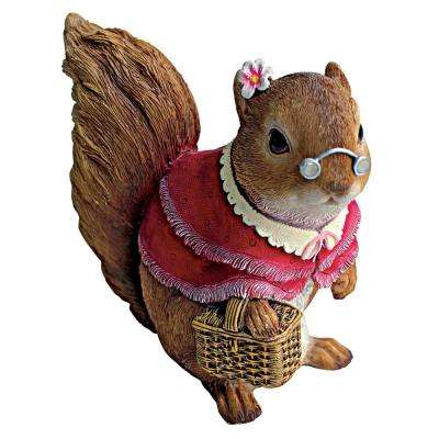 6 in. H Squirrel Grandmother Statue
