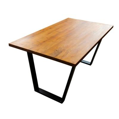 Acacia Wood 63 in. Dining Table