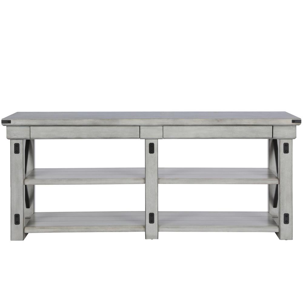 Ameriwood home forest grove rustic white 65 in tv stand for Forest grove plumbing
