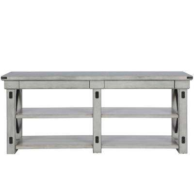 Forest Grove Rustic White 65 in. TV Stand