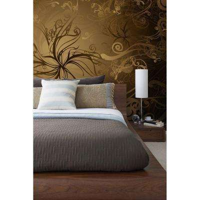 100 in. x 145 in. Gold Wall Mural