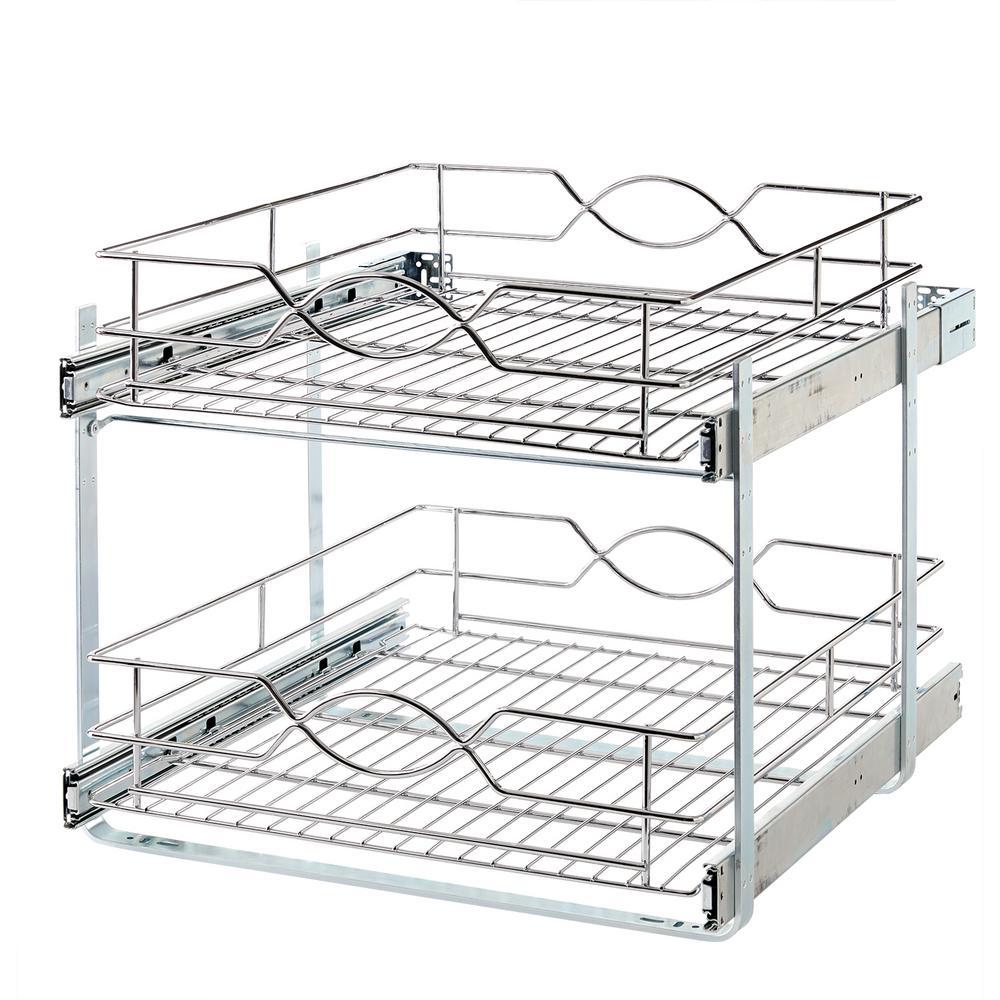 Rev A Shelf 19 In H X 14 75 In W X 22 In D Base Cabinet