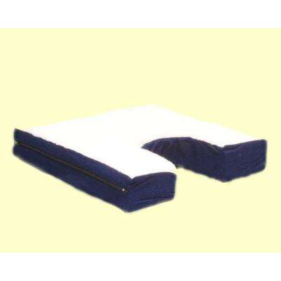 Coccyx Seat Cushion with Gel-pad and Fleece Top