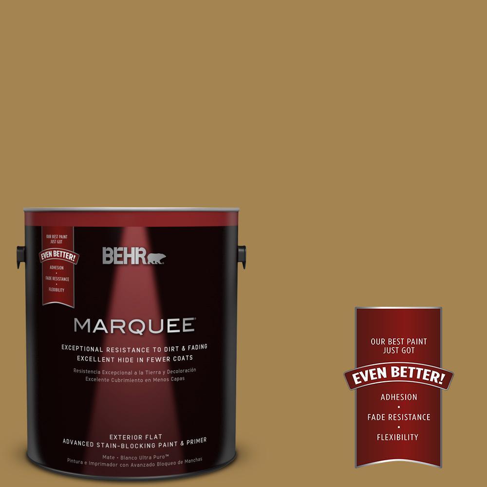 BEHR MARQUEE 1-gal. #330F-6 Bristle Grass Flat Exterior Paint