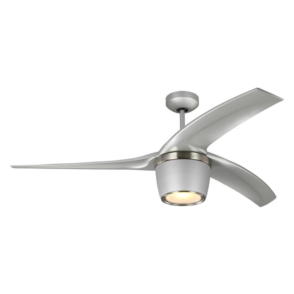 Grey ceiling fan