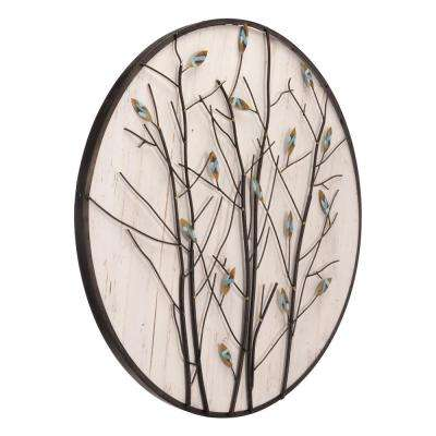 Metal Spring Wall Decor