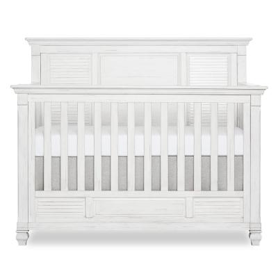 Signature Cape May Weathered White 5 in 1 Full Panel Convertible Crib