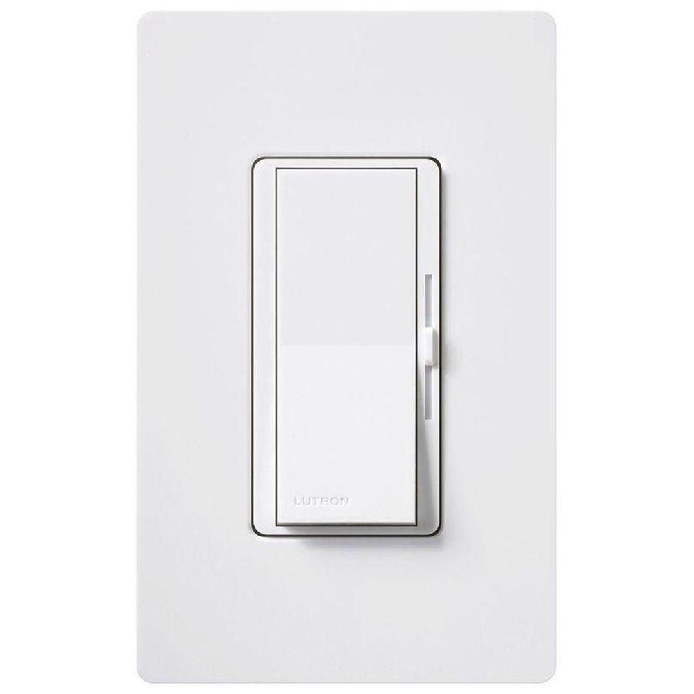 Lutron diva eco dimmer for incandescent and halogen with for Lutron dimmers