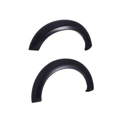 99-07 Ford Super Duty / 00 Excursion Rugged Look Fender Flares - Rear Pair (753414R)