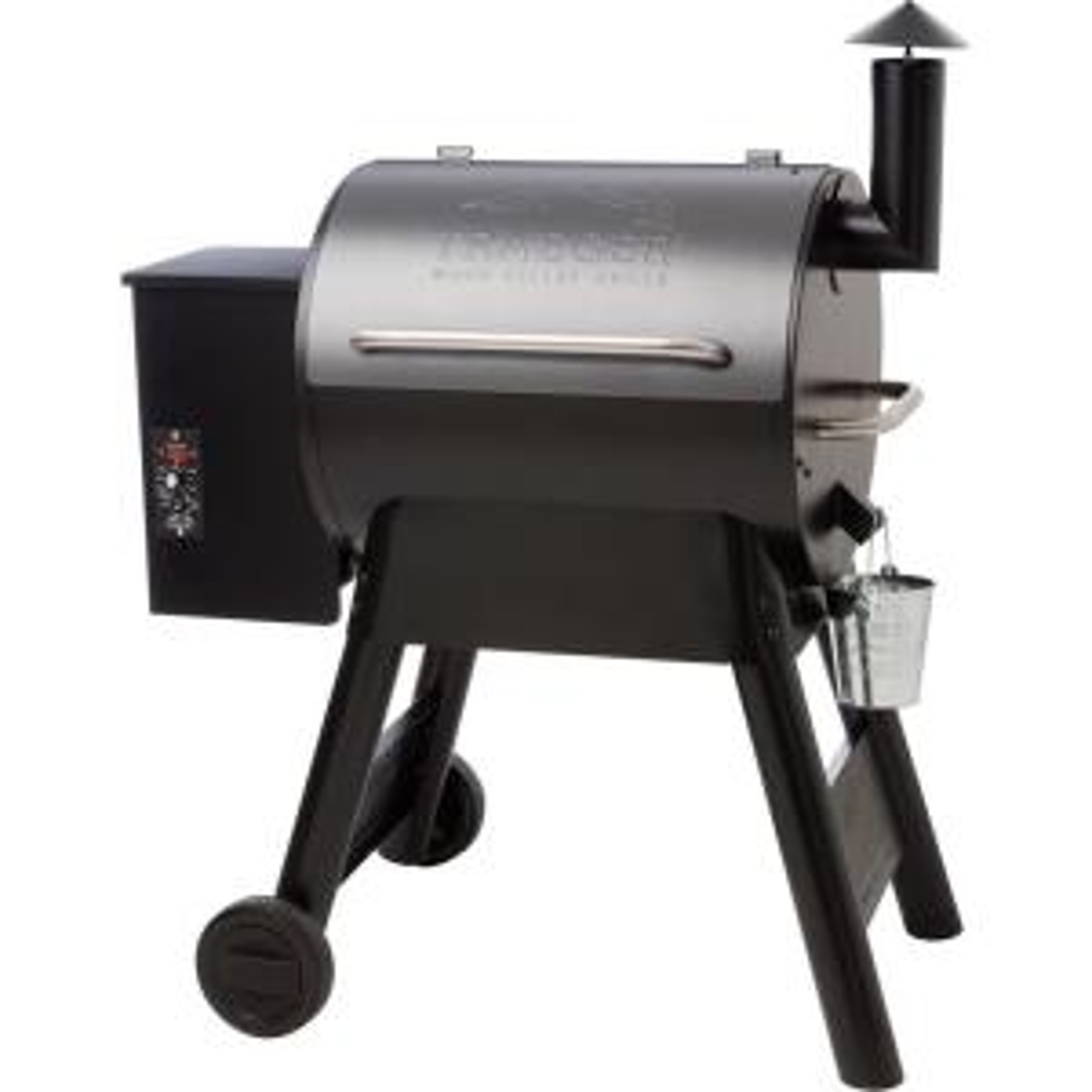 Eastwood Wood Pellet Grill in Black