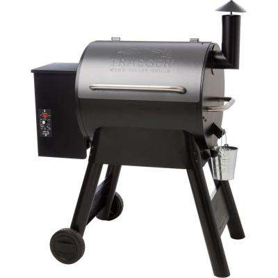 Eastwood 22 Wood Fired Grill in Silver Vien