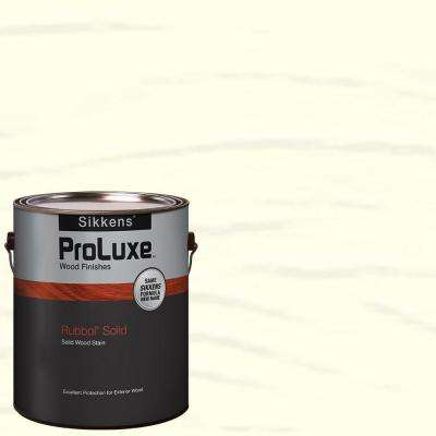 1-gal. #HDGSIK710-100 White Rubbol Solid Wood Stain