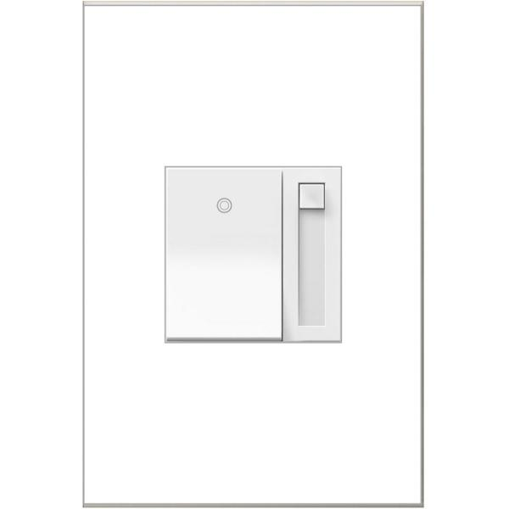 adorne Paddle 450-Watt Single-Pole/3-Way LED/CFL/Incandescent Dimmer, White