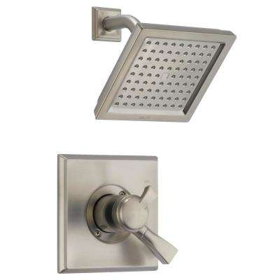Dryden 1-Handle Shower Only Faucet Trim Kit in SpotShield Stainless (Valve Not Included)
