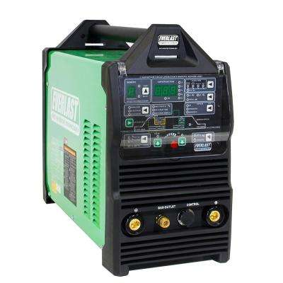 250 Amp PowerTIG 255EXT IGBT Digital Inverter AC/DC Stick/TIG Welder with High Frequency and Lift TIG Start, 120V/240V