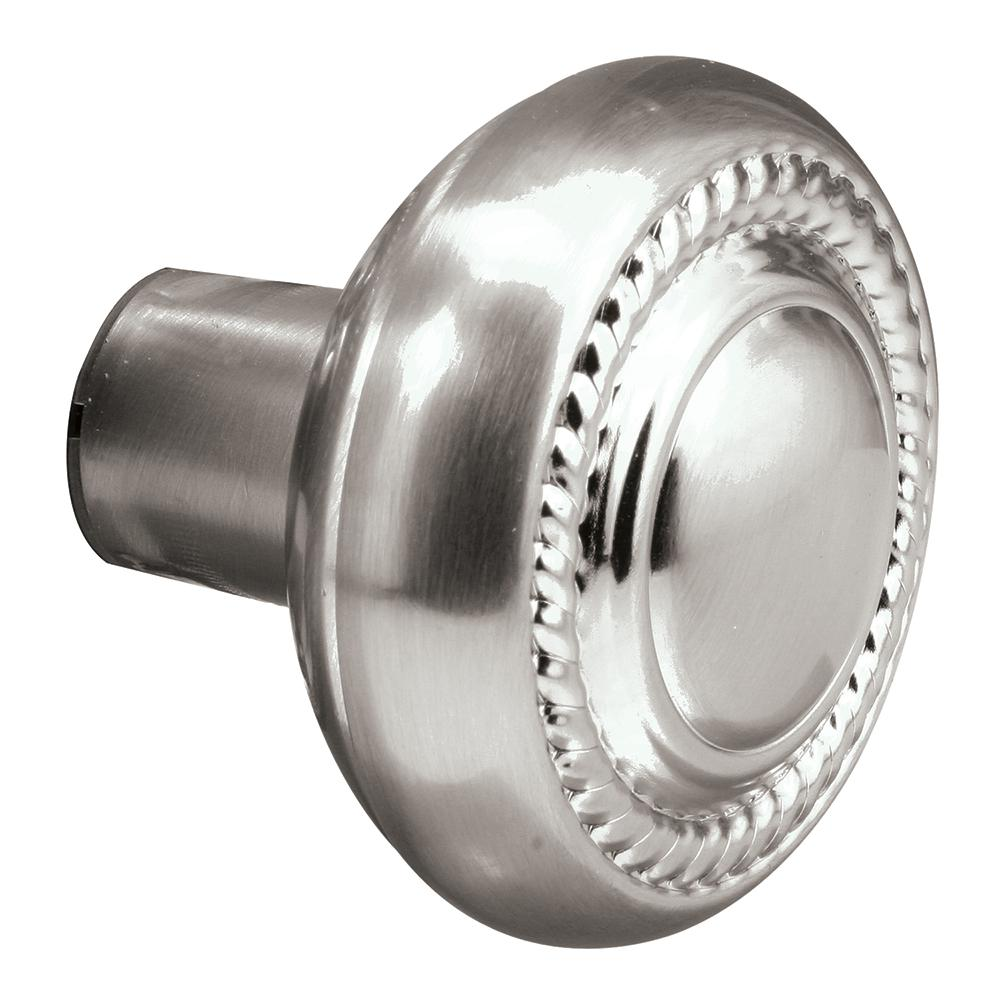 Incroyable Square Drive Satin Nickel Colonial Style Door Knob