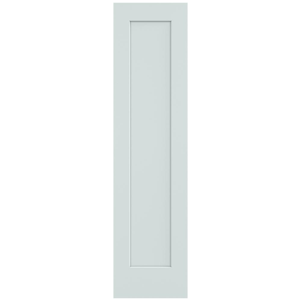 20 in. x 80 in. Madison Light Gray Painted Smooth Solid