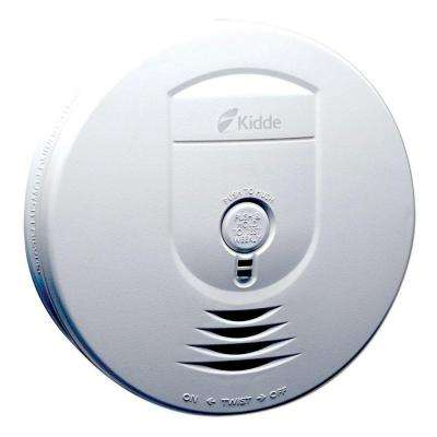Battery Operated Smoke Detector with Wire-Free Interconnect