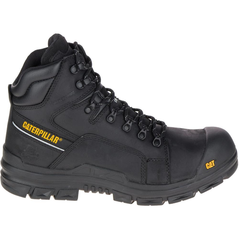 cc3eebe1656 Struts Men's Size 10.5M Black Composite Toe Boots